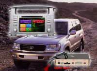 Toyota LC100 / Lexus LX470 ШГУ Redpower 31183DVD